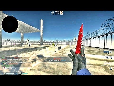 CS:GO · Zombie Escape Mod · Ze_sky_fantasy_v1 Map