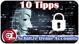 Accounts vor Hackern schützen - 10 Tipps | Ocomic