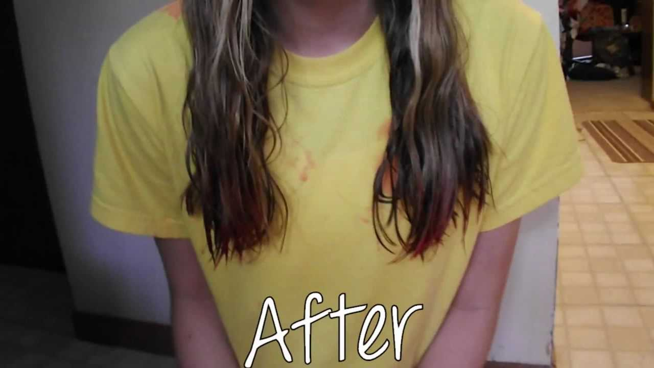 DIY Dip Dying With Koolaid YouTube
