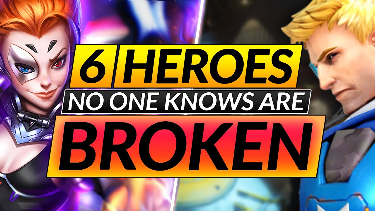 Top 6 MOST UNDERRATED Heroes that ACTUALLY CARRY - NEW META Tips - Overwatch Tips Guide