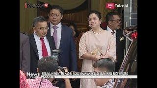 Pernikahan Anak Budi Gunawan-Budi Waseso Dihadiri Menteri & Presiden - iNews Petang 02/09
