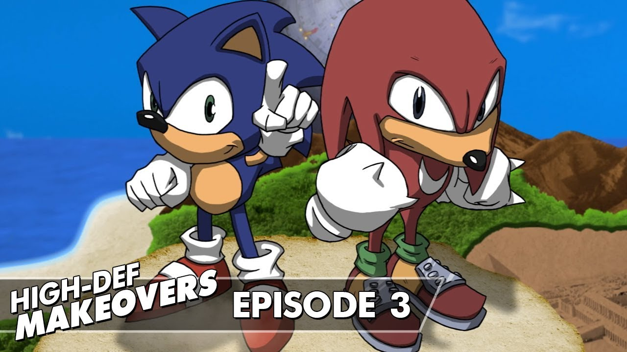 Sonic & Knuckles Title Screen | High-Def Makeovers #3