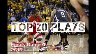 Golden State Warriors vs Toronto Raptors Game 4