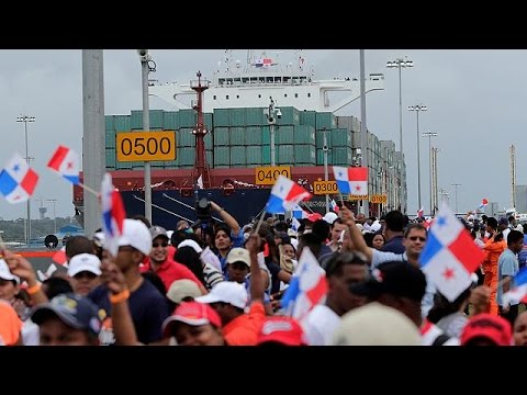 Le Canal de Panama élargi