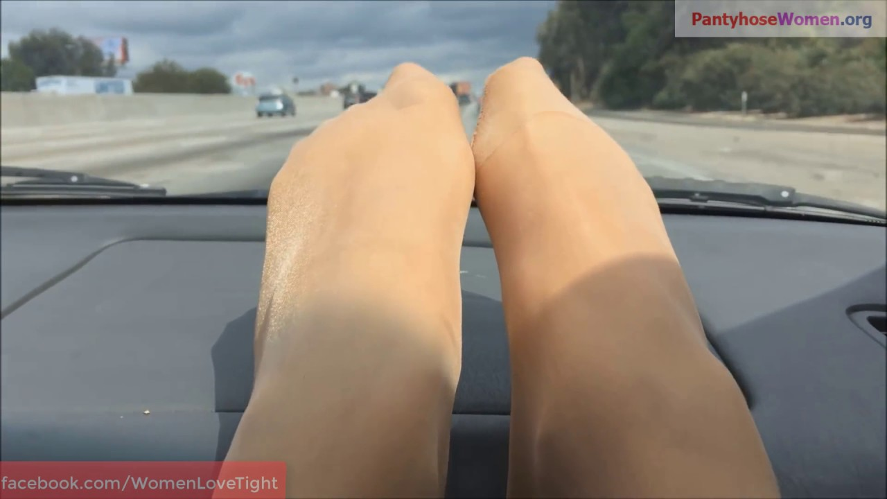 Consider, pantyhose legs in cars also not