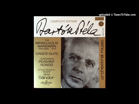 Béla Bartók : Hungarian Peasant Songs for orchestra Sz.100 (1933)