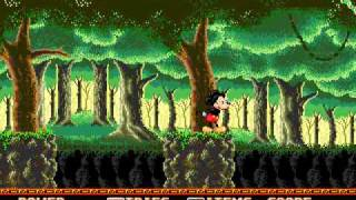 Castle of illusion: Starring Mickey Mouse Gameplay