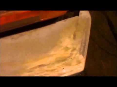 Задний силовой бампер с калиткой под запаску на Ниве 2121
