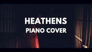 Heathens | Piano Cover with Lyrics