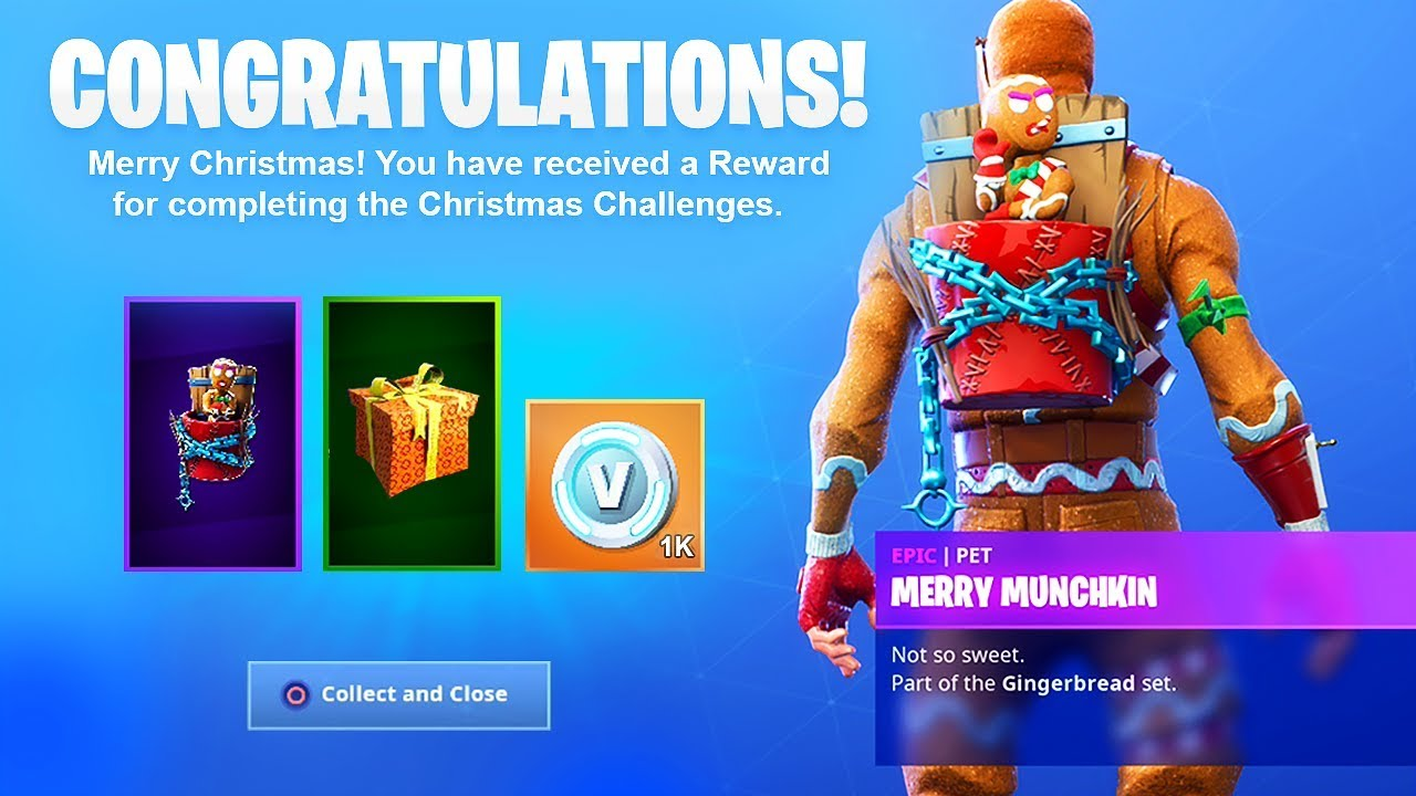 The New CHRISTMAS GIFTS in Fortnite.. - YouTube