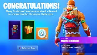 The New CHRISTMAS GIFTS in Fortnite..