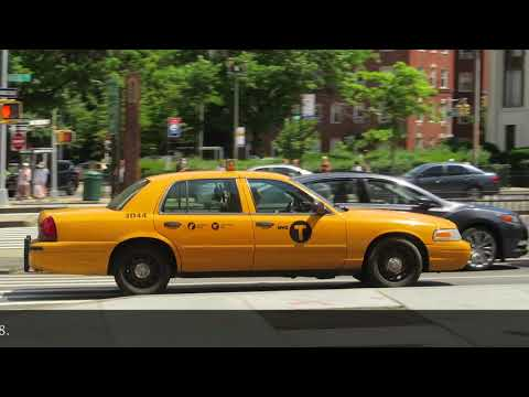 Final season for Medallion Yellow Crown Victoria NYC Taxi - Summer 2018