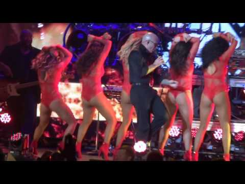 PitBull - Fire Ball Live In Las Vegas