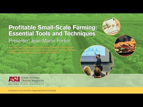 Module 3 | Profitable Small-Scale Farming: Essential Tools a