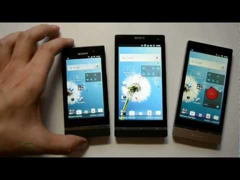 Обзор Sony Xperia S Vs Xperia P Vs Xperia U: серия NXT (test)