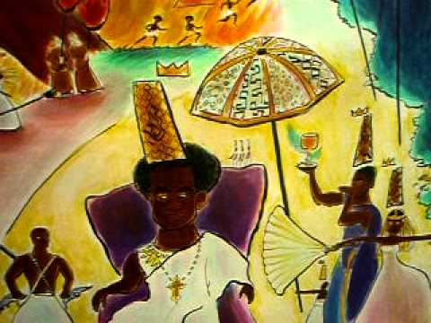 """Kimpa Vita and the Concert of Kongo"" painting by Zeal Harris"