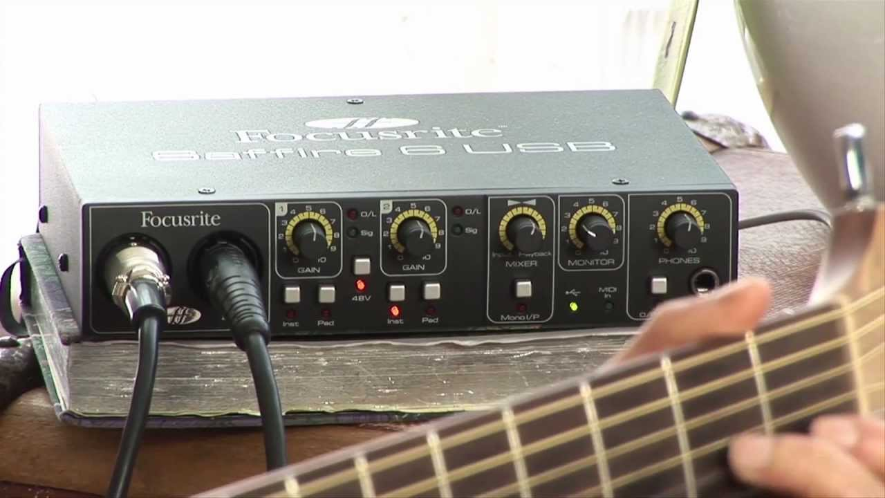 Focusrite Saffire 6 USB Audio Interface X64 Driver Download