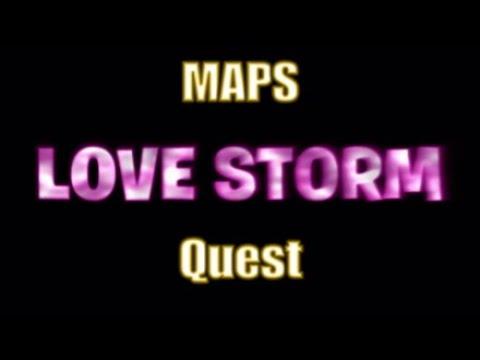 NEW Fortnite LOVE STORM Quest MAPS.