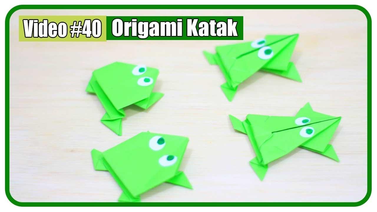 katak origami tutorial origami handmade
