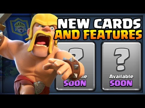 *NEW* CARDS & FEATURES!! Clash Royale SEPTEMBER UPDATE SNEAK PEEK?!