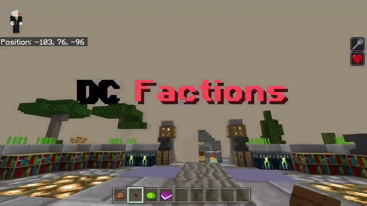 Minecraft DroidCraft Factions Server/Realm! [Windows 10/Xbox/PE/Bedrock]