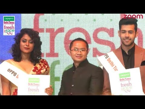 Winners Of OPPO Delhi Times Fresh Face 2017