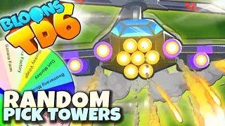 TRUDNE WYBORY 5 TIER | Random Pick Tower | Bloons TD6 PL