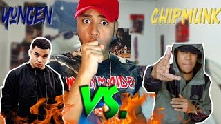 American Listens to UK Grime Beef Chipmunk VS Yungen #1 (Beef Diss Tracks Reaction)Warmup @ChriisSk