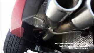 2012 VW Jetta GLI Autobahn With Borla R&D Cat Back Exhaust