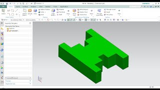 Siemens NX10 Modelling: Tutorial 01