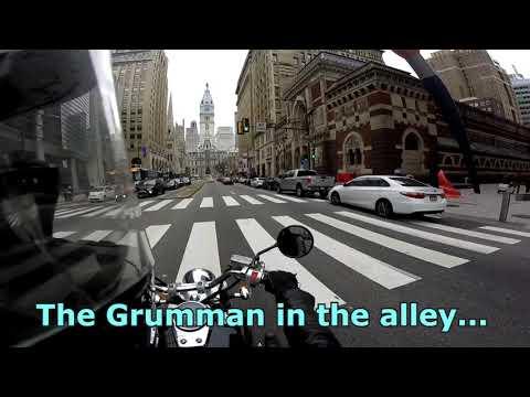 Helmet Cam Ride Through Center City Philadelphia