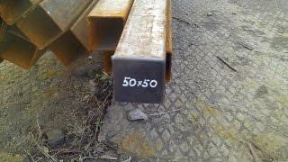Квадратная  заглушка для профильной трубы 50x50 мм(, 2014-11-21T13:18:34.000Z)
