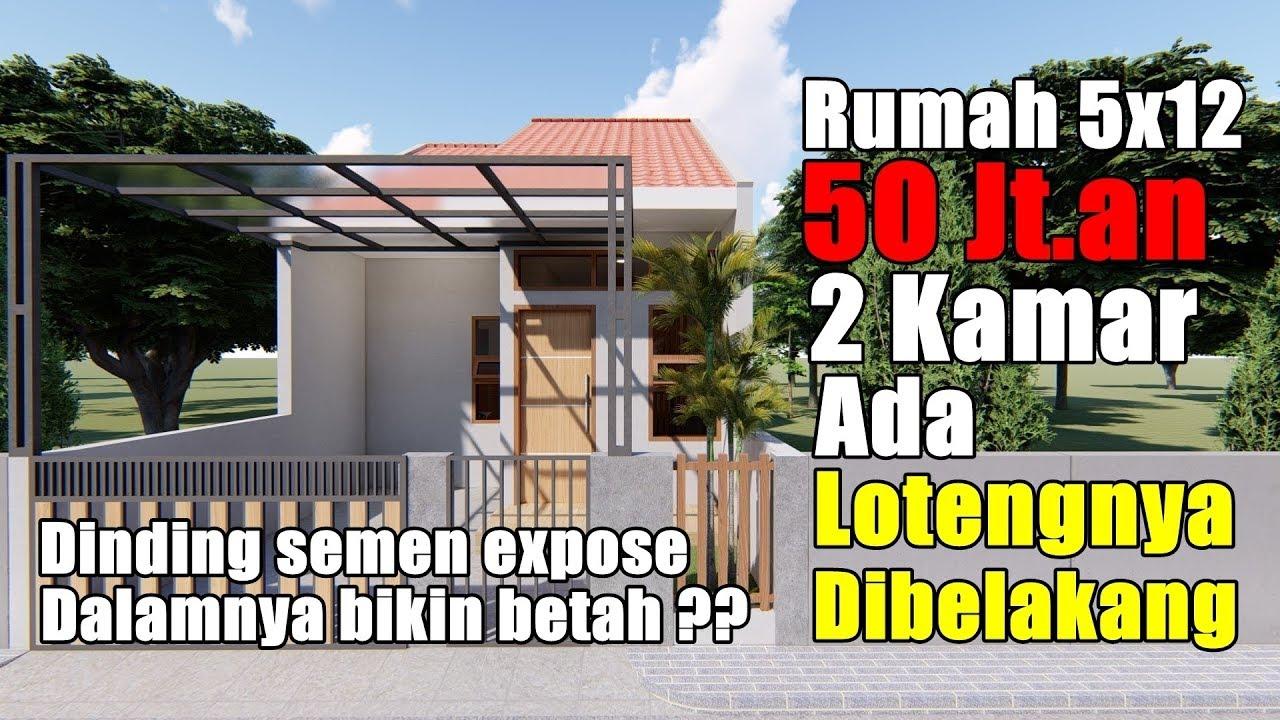 RENOVASI RUMAH TYPE 36/60#SATU LANTAI#2 KAMAR ADA ...