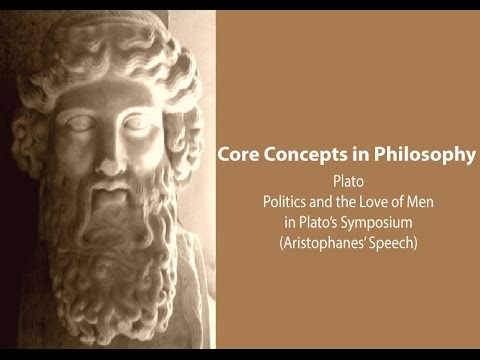 Politics and the Love of Men in Plato's Symposium - Philosophy Core Concepts