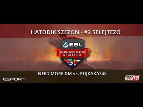 ESL SEC Season VI. CS:GO Qualifier #2 - NDM vs. PujkaKakas48 (cbble)