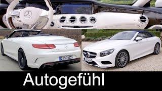 Mercedes Benz S Class Cabriolet 2016 Videos
