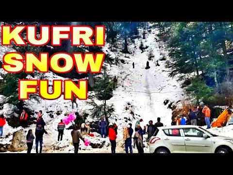 KUFRI SNOW   FUN Drive VLOG  Near SHIMLA