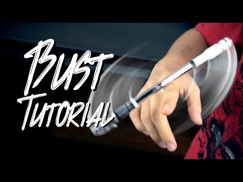 BUST | Pen Spinning Tutorial (ENG_SUBS)