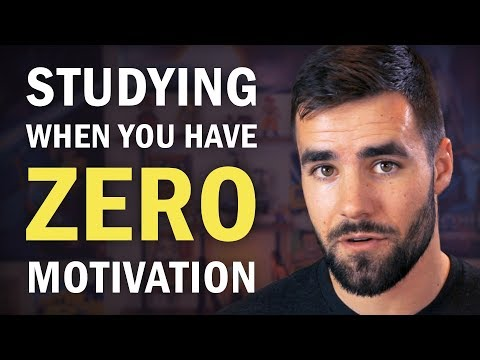 How to Make Yourself Study When You Have ZERO Motivation