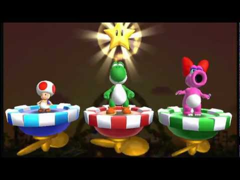 Mario Party 9 - DK's Jungle Ruins 4 Players