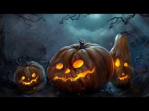 Fall Desktop Wallpaper With Pumpkins Halloween Music Pumpkin Woods Youtube