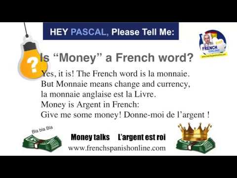 Can i have change please in french