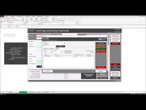 Excel Lagerverwaltung Version 1.30