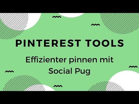 Pinterest Tools: Social Pug Tutorial - Effizienter pinnen mit dem Social Pug Wordpress-Plugin thumbnail