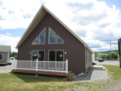 New era edge le158 cape chalet youtube for Chalet style homes for sale