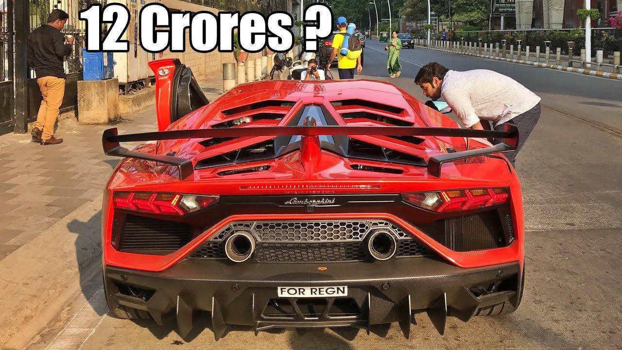 India\u0027s most EXPENSIVE supercar Lamborghini Aventador SVJ