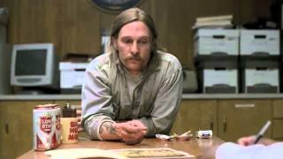 Repeat youtube video Rust Cohle -  Philosophy of Pessimism (True Detective)
