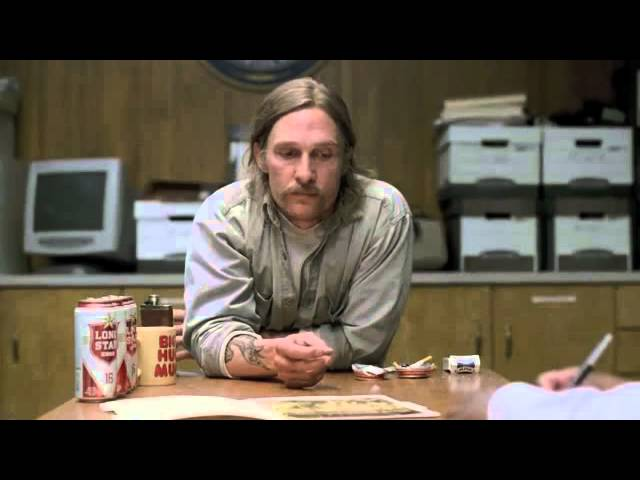 Rust Cohle -  Philosophy of Pessimism (True Detective)