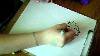 how to draw a graffiti character cholo