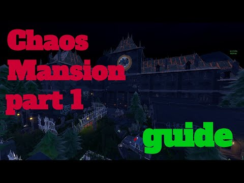 How To Complete Chaos Mansion By PineappleMadness - Fortnite Creative Guide